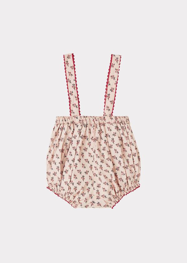Baby Girls Peach Dunlin Romper