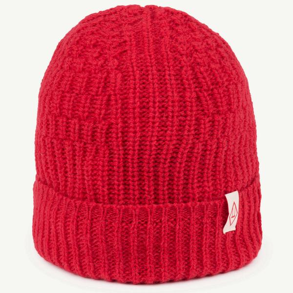 Boys & Girls Red Apple Wool Hat