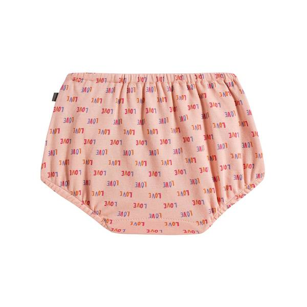 Baby Girls Pink LOVE Bloomer