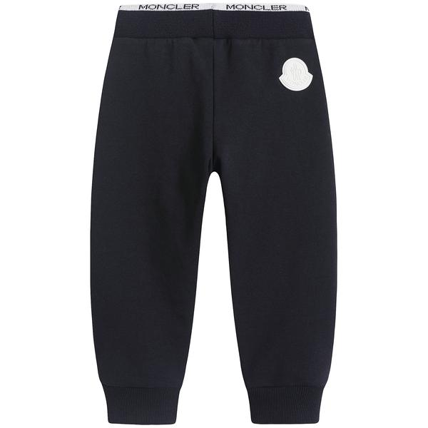 Baby Boys Navy Sweat Bottoms