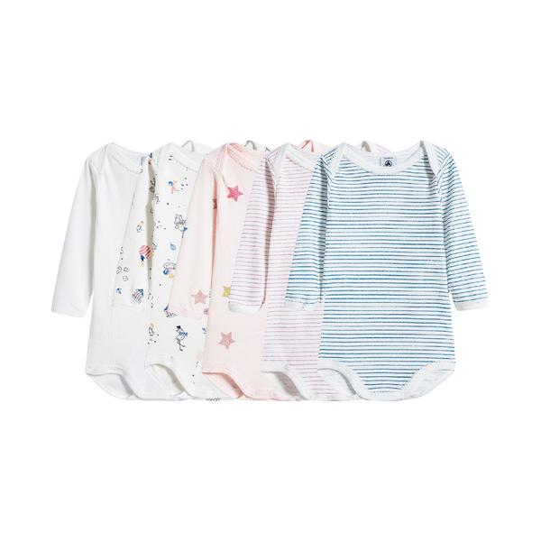 Baby Girls Multicolor Jumper Set ( 5 Pieces )