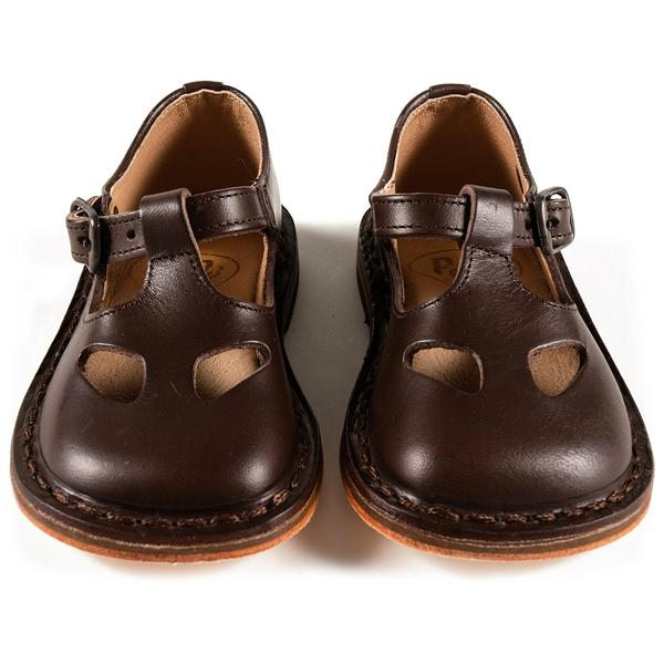 Baby Boys Brown Leather Shoes