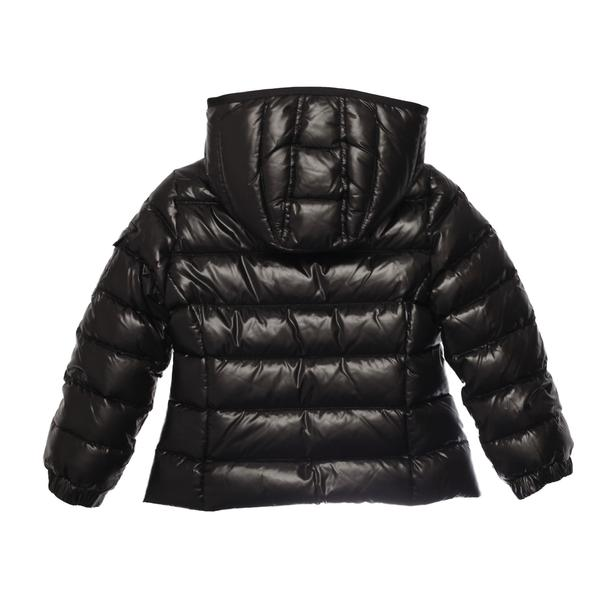 Girls Black Hooded Padded Down 'Bady' Jacket - CÉMAROSE | Children's Fashion Store - 2