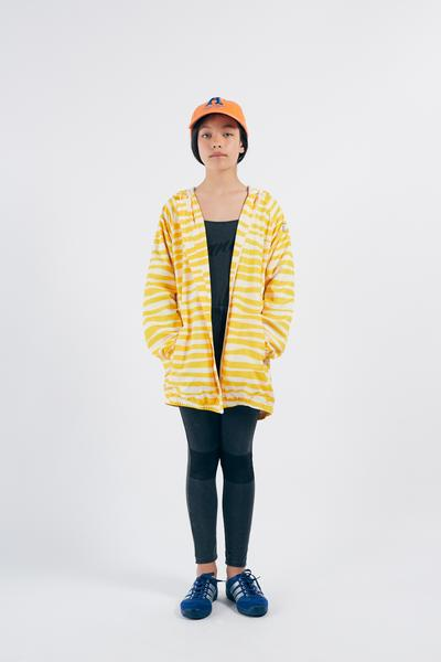 Boys & Girls Yellow Stripe Raincoat