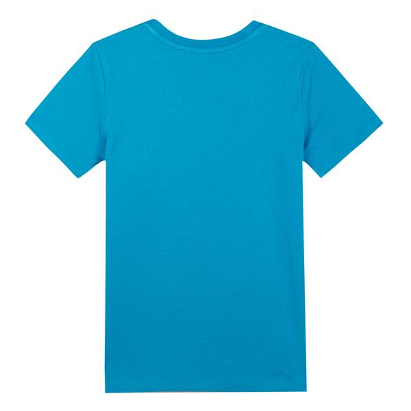 Boys Scuba Blue Cotton T-shirt