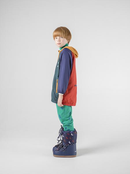 Boys & Girls Multicolour Packable Coat