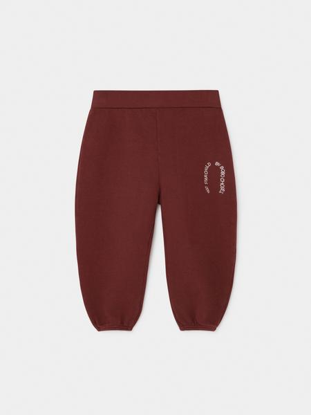 Baby Boys Red Cotton Trousers
