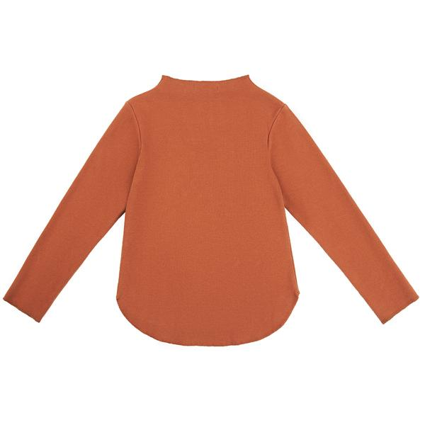 Girls Caramel Cotton Top