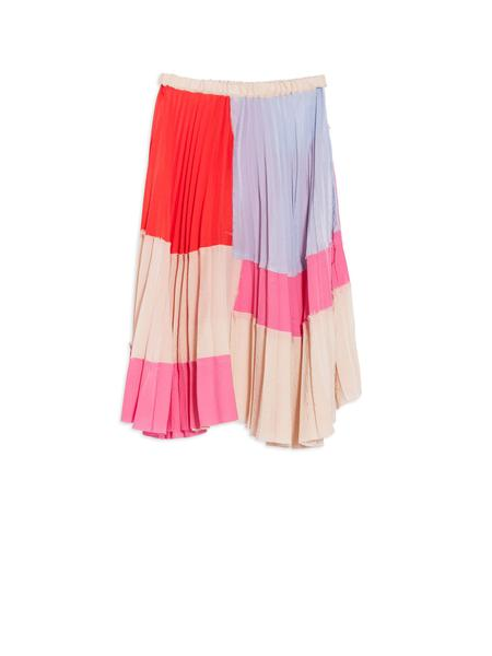 Girls Pink Pleated Skirt