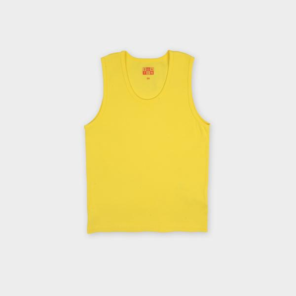Boys Yellow Cotton Top