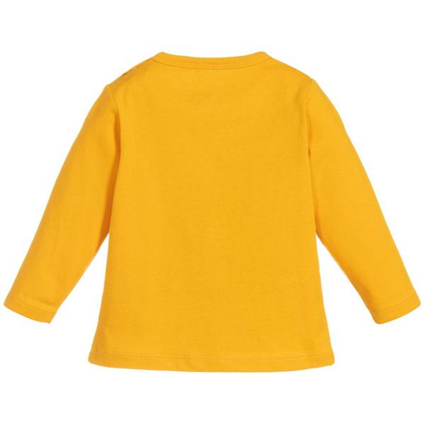 Baby Boys Yellow Cotton Top