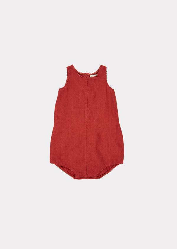 Baby Girls Red Romper