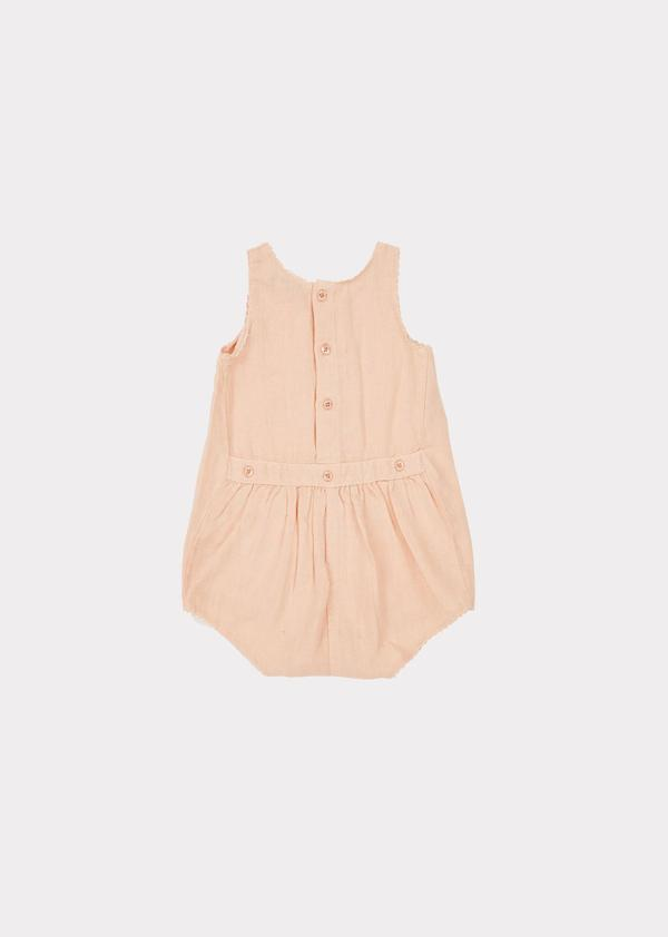 Baby Girls Light Pink Romper