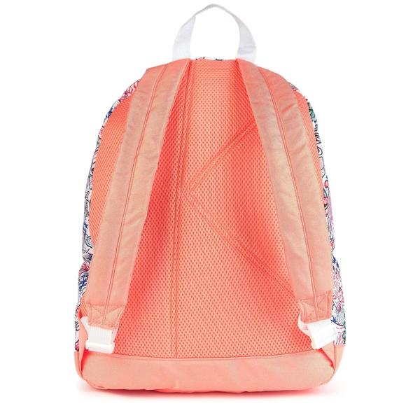 Girls White Pattern Backpack
