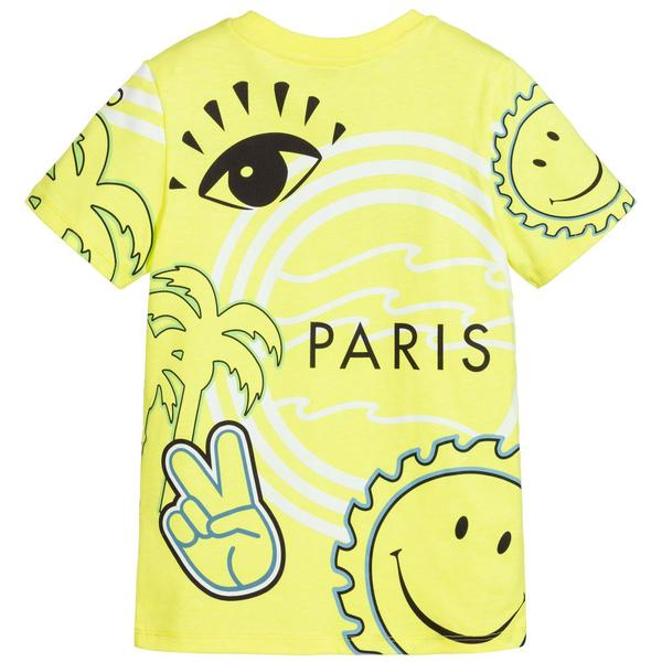 Boys Yellow Logo T-shirt