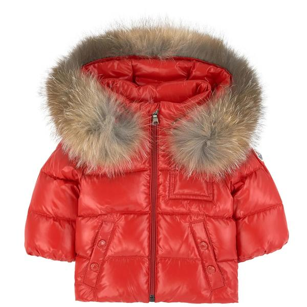 "Baby Boys & Girls Red ""K2"" Padded Down Jacket"
