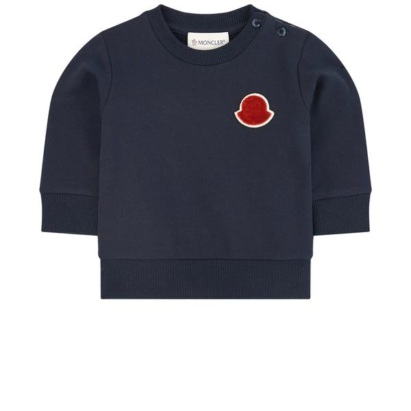 Baby Boys Navy Sweatshirt