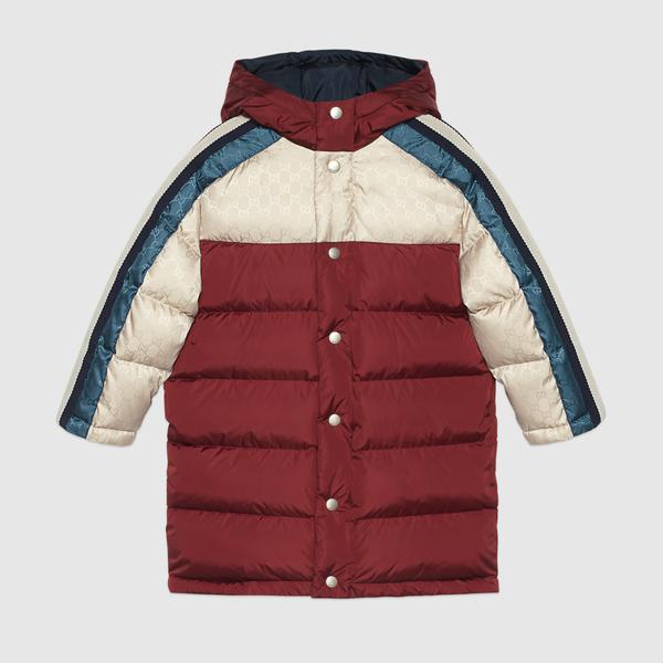 Boys & Girls Multicolor Padded Down Jacket