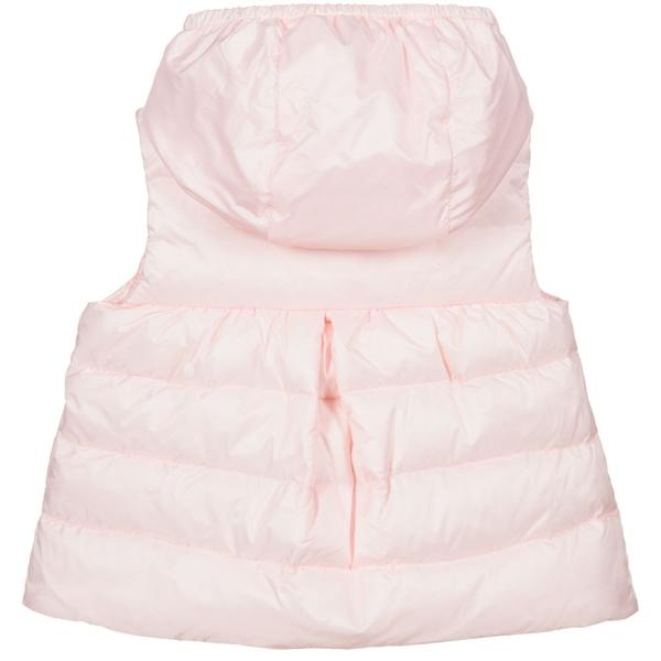 "Baby Girls Light Pink ""NEW SUZETTE"" Padded Down Vest"