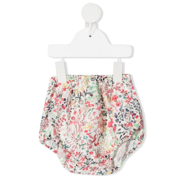 Baby Girls Multicolor Floral Bloomers