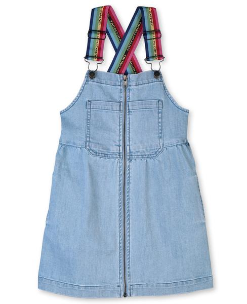 Girls Blue Denim Dress