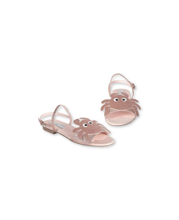 Girls Coral Crab Sandals