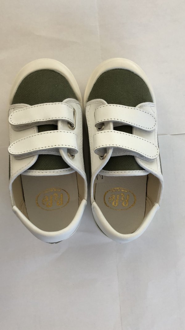 Boys & Girls Green Canvas Shoes