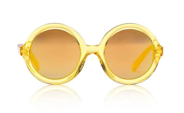 'Lenny' Yellow Jelly Sunglasses