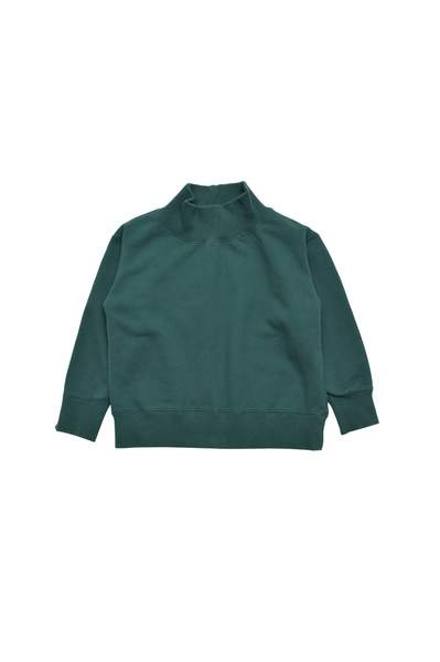 Girls Green Turtleneck Sweater