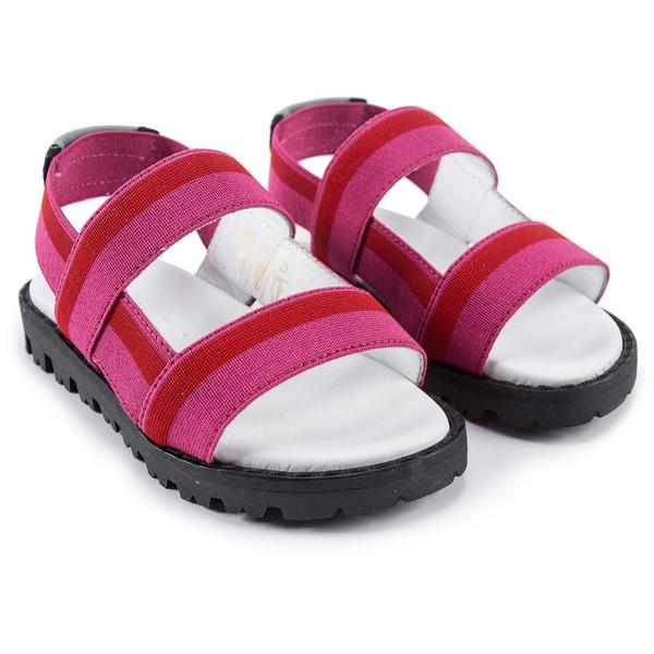 Girls Pink & Red Sandals