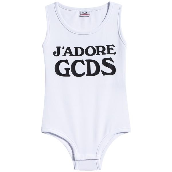 Girls White Jersey Cotton Babysuits