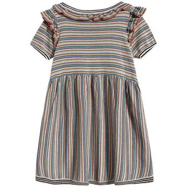 Girls Multi Cotton Dress