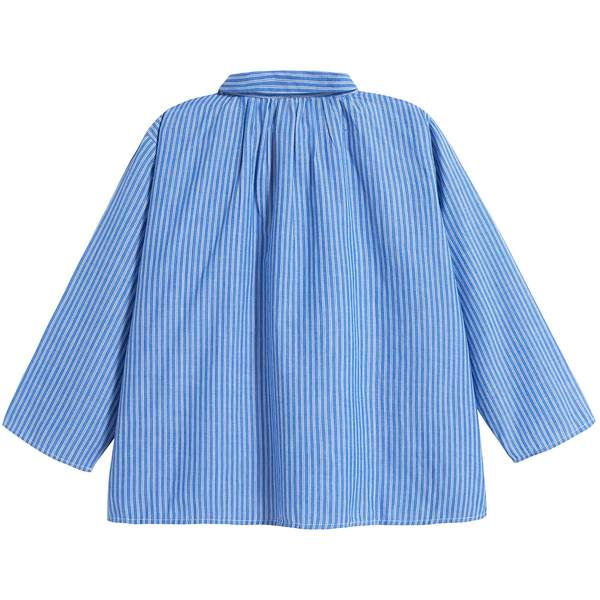 Boys Persian Blue Cotton Shirt