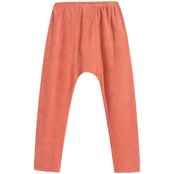 Baby Coral Cotton Trousers