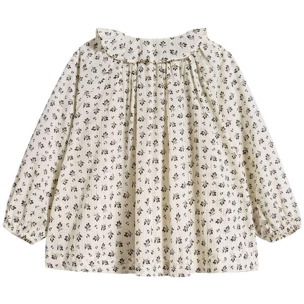 Girls Ditsy Clover Print Hydrangea Blouse