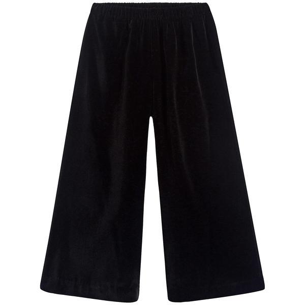 Girls Black Straight Trousers