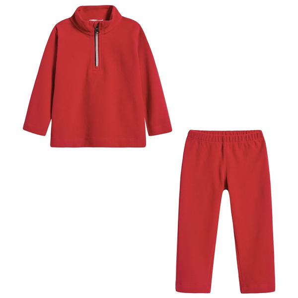 Baby Boys & Girls Bright Red Set