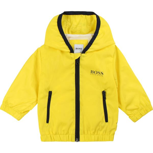 Baby Boys Yellow Zip-up Jacket