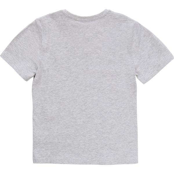 Boys Grey Cotton T-shirt