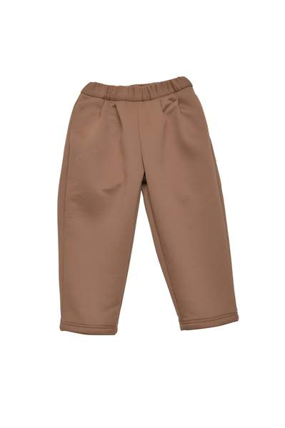 Girls Camel Trousers