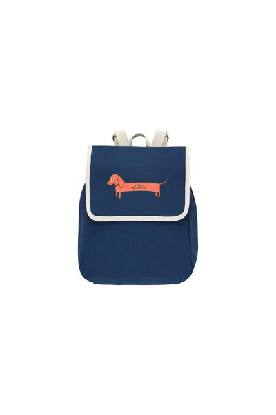 Boys & Girls Navy Dog Backpack