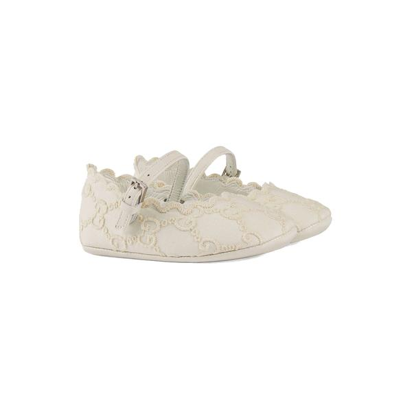 Baby Girls Ivory Ballet Flats