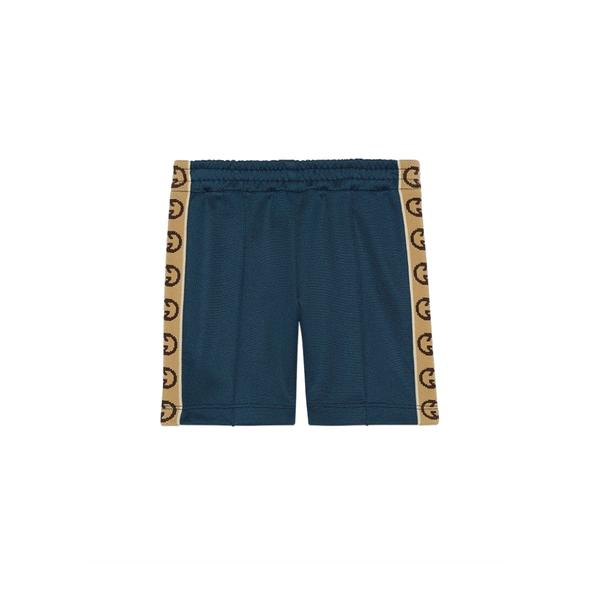 Baby Boys Prussian Blue GG Shorts