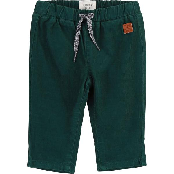 Baby Boys Green Cotton Trousers