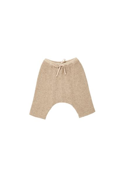 Baby Boys & Girls Khaki Wool Trousers