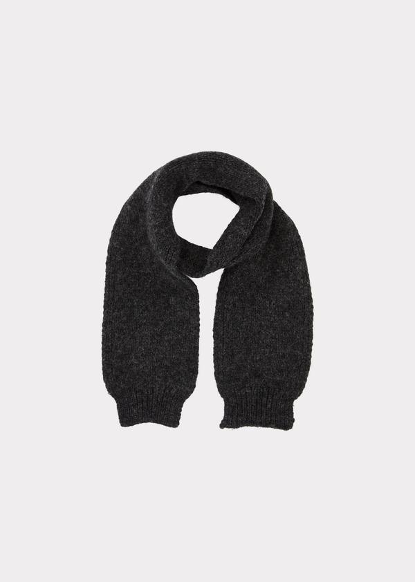 Baby Boys & Girls Charcoal Greenfinch Scarf