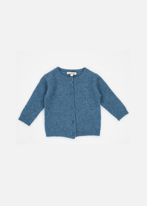 Baby Boys & Girls Teal Guillemot Cardigan