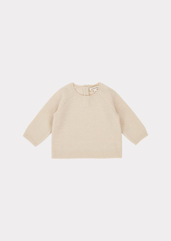 Baby Boys & Girls Cream Jay Jumper