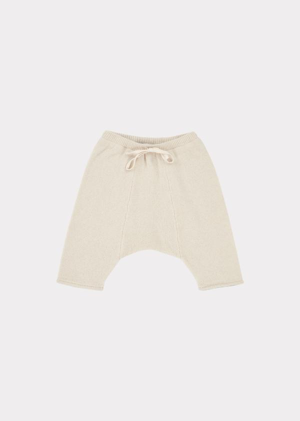 Baby Boys & Girls Cream Parakeet Trousers